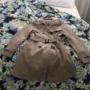Jackets & Blazers - Beige Trench Coat